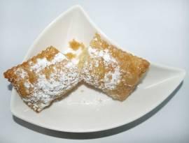 Fardelejo espolvoreado de azúcar