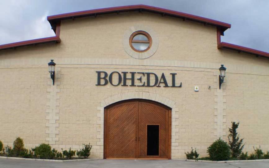 bodega de Rioja bohedal