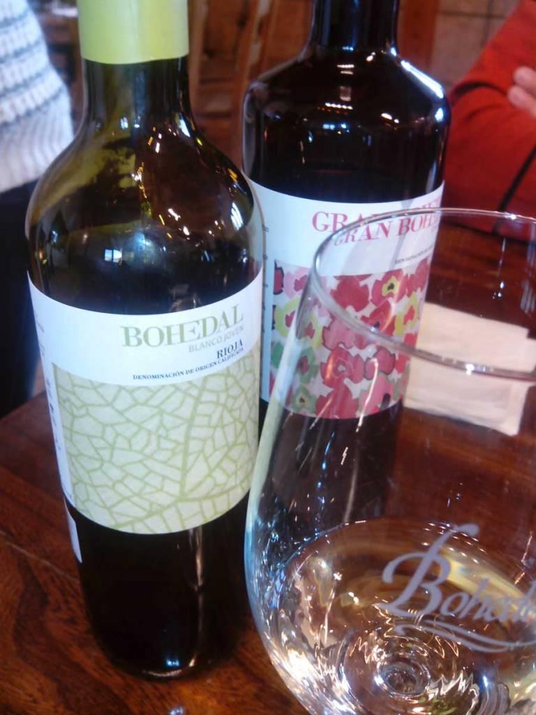 cata de vinos bohedal