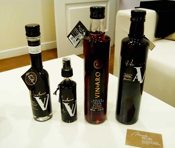 Gama de vinagres y aceites