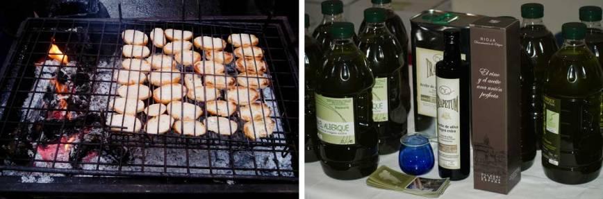 Tostadas de aceite de oliva virgen extra