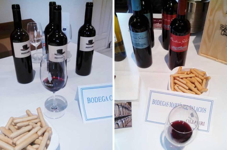 Varias bodegas nos ofrecen sus vinos en Ollauri