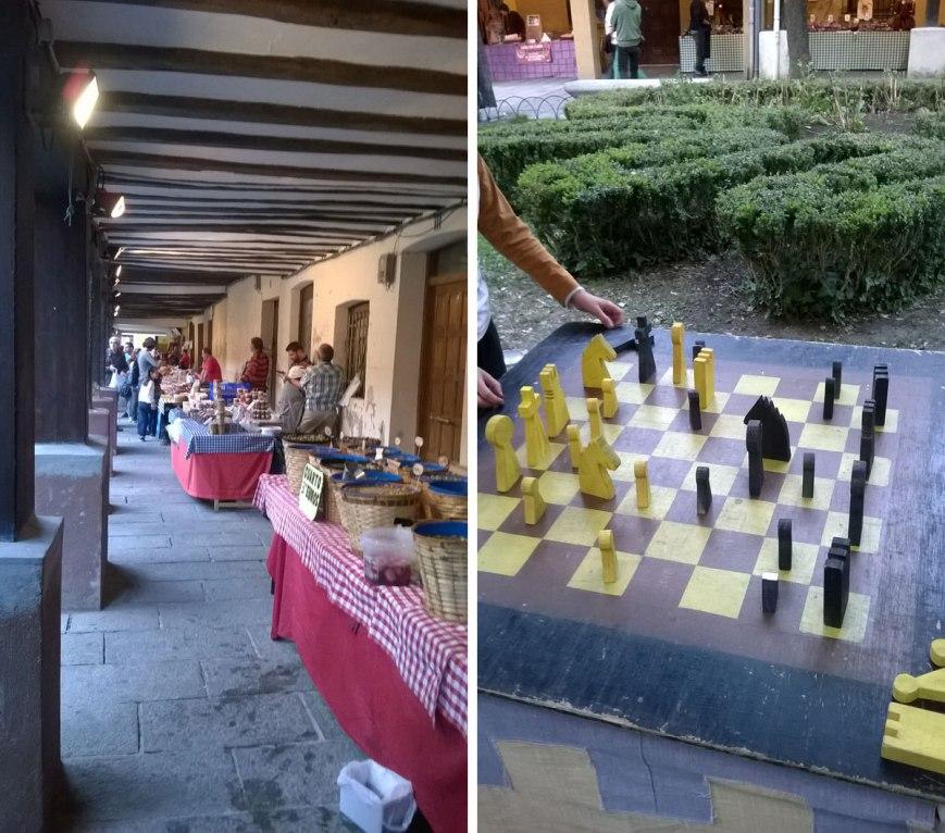 Mercado del dulce de Santo Domingo de la Calzada
